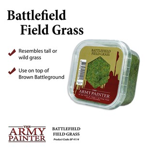 Army Painter Basing Field Grass Battlefield 4114 - 150ml