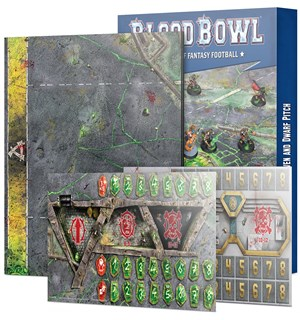 Blood Bowl Pitch Skaven & Dwarf