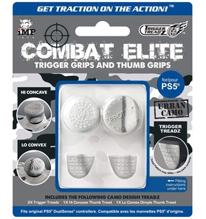 Combat Elite Trigger Grips for PS5 Trigger Grips & Thumb Grips