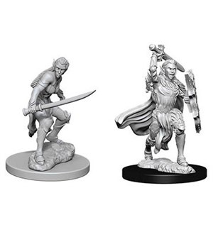 D&D Figur Nolzur Elf Fighter Female Nolzur's Marvelous Miniatures - Umalt