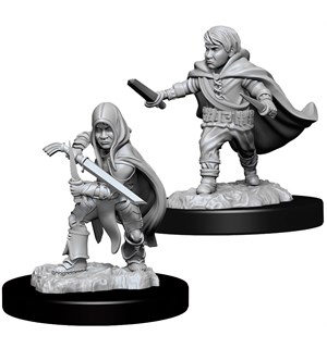 D&D Figur Nolzur Halfling Rogue Male Nolzur's Marvelous Miniatures