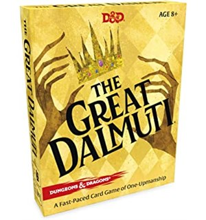 D&D The Great Dalmuti Kortspill Dungeons & Dragons