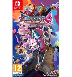 Disgaea 6 Defiance of Destiny Switch Unrelenting Edition