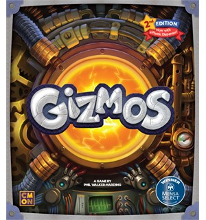 Gizmos 2nd Edition Brettspill