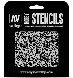 Hobby Stencils Weathered Paint 1:48 Vallejo