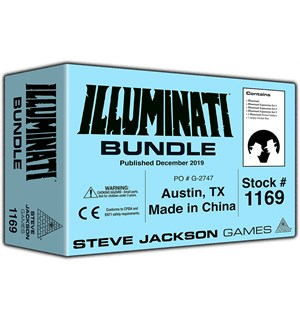 Illuminati Pocket Box Bundle Brettspill