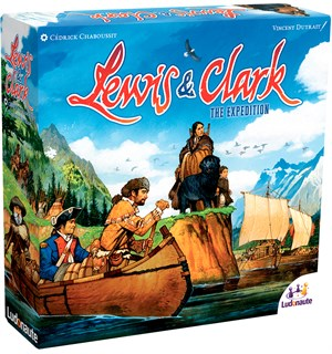 Lewis & Clark The Expedition Brettspill 2nd Edition