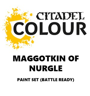 Maggotkin of Nurgle Paint Set Battle Ready Paint Set for din hær
