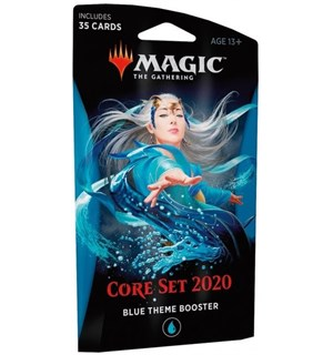 Magic Core Set 2020 Theme Booster Blue Theme Booster - 35 blå kort