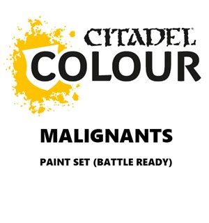 Malignants Paint Set Battle Ready Paint Set for din hær