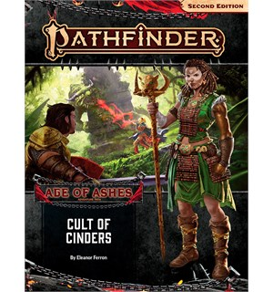 Pathfinder 2nd Ed Age of Ashes Vol 2 Cult of Cinders - Adventure Path