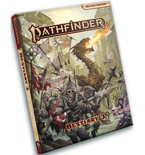 Pathfinder 2nd Ed Bestiary 3 Second Edition RPG