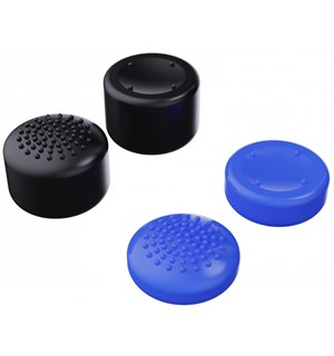 Piranha Thumb Grips PS5 - 4 stk 2x dome + 2x Concave - Medium/Tall