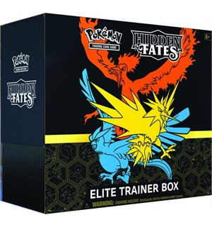Pokemon Hidden Fates Elite Trainer
