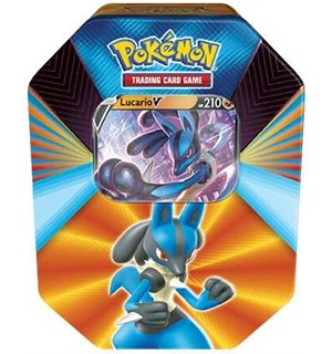 Pokemon Tin Box V Forces Lucario V