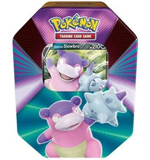 Pokemon Tin Box V Forces Slowbro V