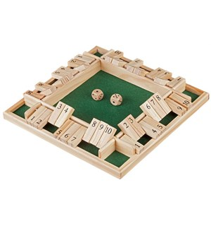 Shut the Box 10er For opptil 4 spillere