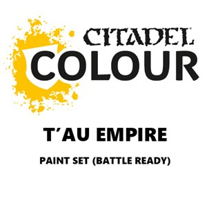 Tau Empire Paint Set Battle Ready Paint Set for din hær