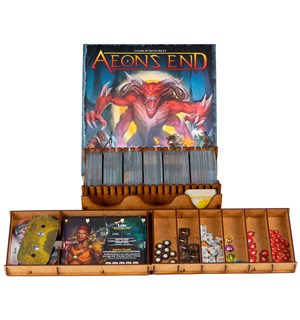 Aeons End 2nd Edition Insert Få system i spillboksen