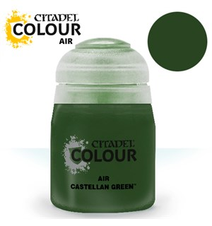 Airbrush Paint Castellan Green 24ml Maling til Airbrush