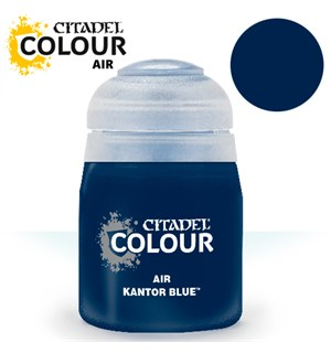 Airbrush Paint Kantor Blue 24ml Maling til Airbrush