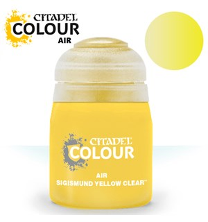 Airbrush Paint Sigismund Yellow Clear 24 Maling til Airbrush