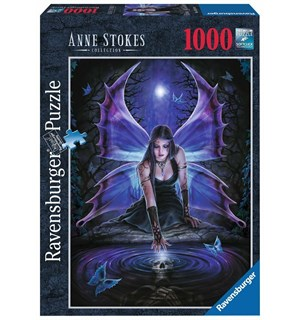 Anne Stokes 1000 biter Puslespill Ravensburger Puzzle