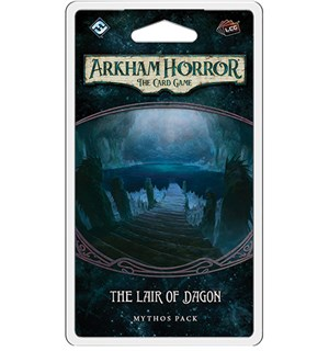 Arkham Horror TCG The Lair of Dagon Exp Utvidelse til Arkham Horror Card Game