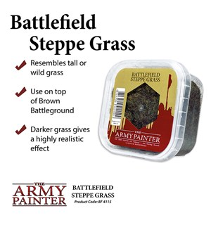 Army Painter Basing Steppe Grass Battlefield 4115 - 150ml