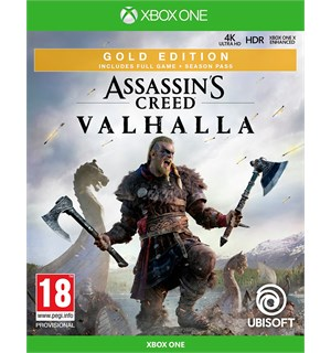 Assassins Creed Valhalla Gold Xbox One Gold Edition med Season Pass