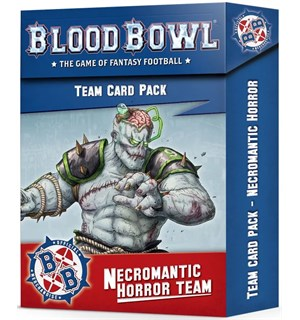 Blood Bowl Cards Necromantic Team Cards