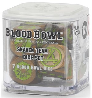 Blood Bowl Dice Skaven Team