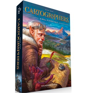 Cartographers Brettspill A Roll Player Tale