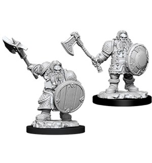 D&D Figur Nolzur Dwarf Fighter Male Nolzur's Marvelous Miniatures - Umalt