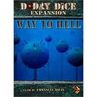 D-Day Dice Way to Hell Expansion Utvidelse til D-Day Dice Second Edition