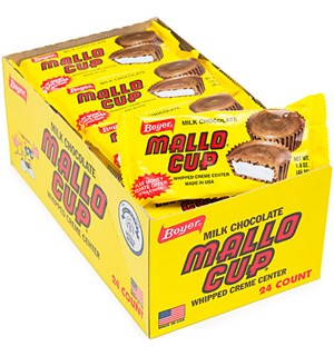 Dark Chocolate Mallo Cup - 24 stk Hel kartong med Dark Chocolate Mallo Cup