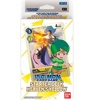 Digimon TCG Starter Deck Heavens Yellow Digimon Card Game - ST-3