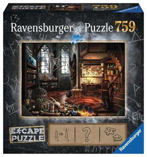 Dragon Laboratory 759 biter Puslespill Ravensburger Escape Room Puzzle