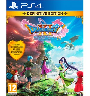 Dragon Quest XI S Definitive Ed PS4 Echoes of an Elusive Age
