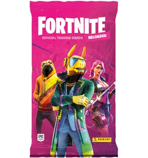 Fortnite TCG Reloaded Booster 8 samlekort per pakke