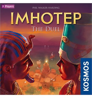 Imhotep The Duel Brettspill
