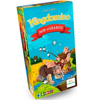 Kingdomino Age of Giants Exp - Norsk Utvidelse til Kingdomino/Queendomino