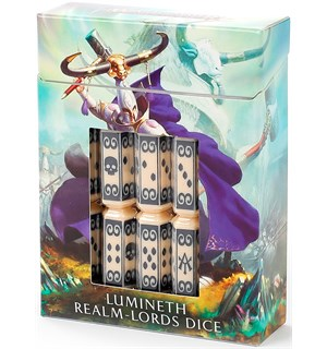 Lumineth Realm Lords Dice Set Warhammer Age of Sigmar