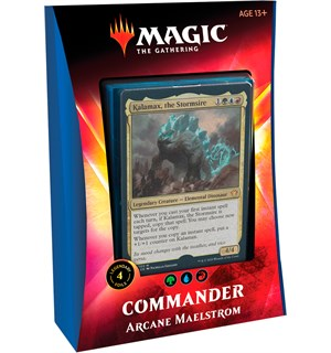 Magic Commander Deck Arcane Maelstrom Ikoria Lair of Behemoths - 100 kort