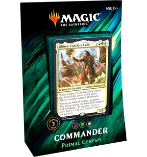 Magic Commander Deck Primal Genesis Magic Commander Deck 2019