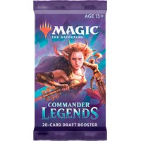 Magic Commander Legends Draft Booster 20 kort per pakke