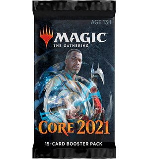 Magic Core 2021 Draft Booster 15 kort