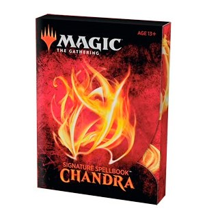 Magic Signature Spellbook Chandra