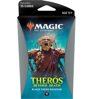 Magic Theros Beyond Death Theme Black Theme Booster - 35 svarte kort