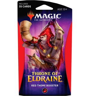 Magic Throne of Eldraine Theme Red Theme Booster - 35 røde kort